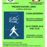 Lettere all'amata a #Casalbordino @ Biblioteca Comunale - Palazzo Mezzarapa | Casalbordino | Abruzzo | Italia